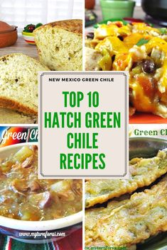 Top 10 of the Best Hatch Green Chile Recipes Top 10 Hatch Green Chile Rezepte! New Mexico Green Chili Recipe, Hatch Green Chili Recipe, Green Chili Recipes, Hatch Chili, Chilli Recipes, Green Chile Sauce Recipe, Pepper Recipes, Mexican Dishes, Mexican Food Recipes