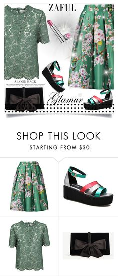 """""""Zaful 12"""" by nejra-l ❤ liked on Polyvore featuring Valentino and Ann Taylor"""