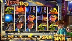 Under the Bed is an #exciting3D slot that is available on #BetsoftGaming Software. It has 5 reels, 30 pay-lines and several #bonus features.  This slot has graphics, colours and background music to match the theme. Jane  and Jesse #animations are added with them standing on the right of the #slot reels to make the game more #enjoyable. They are brother and sister characters.