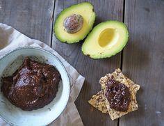Nyttig nutella med avokado