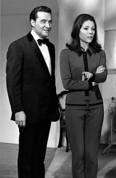 John Steed and Emma Peel, The Avengers.