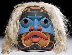 Mask | Kwakiutl Lelooska (Don) Alkuna Horsehair 15