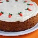 Carrot Cake        Print Print Recipe      Save Save Recipe      Carrot Cake        Yield: One 9-inch cake        Prep Time: 30 min        Cook Time: 20 min        This is an amazingly moist carrot cake. I was a little worried that a tall one-layer cake topped with frosting would feel like too-much cake, but I have to say that I absolutely adored this cake. Delicious!      Ingredients:        CAKE:      2 1/2 cups all-purpose flour      6 medium carrots, grated (about 10 ounces)- use medium…