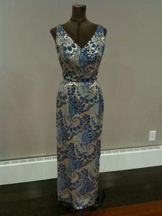 Gorgeous Jay Herbert 60s Cocktail Evening Dress Gown | eBay