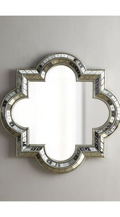 Quatrefoil Mirror - mediterranean - mirrors - Neiman Marcus