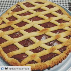 Another delicious creation from our foodie @giovannacarrega! Delighted by this shortcrust pastry cake with Nutella topping  #Nutella #shortcrust #pastry #cake #sweet #homesweethome #crostata #ovenbaked #breakfast #teabreak #sweetness #indulge #chocolovers #ilovenutella #ognitantocucino #dessert #dolce #warmcocotte #colazionepronta #otcucino #handmade