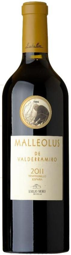 Emilio Moro Malleolus de Valderramiro 2011 | This red wine is delicious and a little mysterious... with flavors of wood, chocolate, and tobacco.