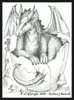 Photo Gallery: ACEO » Dragons » Dragon Hatching Season