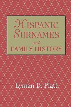 Hispanic genealogy