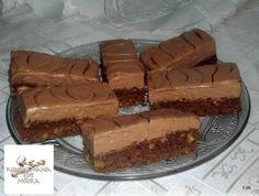 Csokihabos-diós szelet Recept képpel - Mindmegette.hu - Receptek