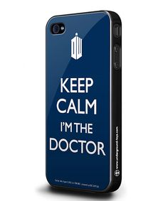 Look at this Doctor Who 'Keep Calm I'm the Doctor' iPhone 5 Case on #zulily today!