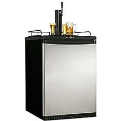 @Overstock - Make your bar, kitchen, or deck the place to be with a Danby indoor/outdoor kegeratorAppliance is designed for outdoor use and accommodates 1/2 barrel kegs (60 litres)Wine cooler features a fan-cooled condenser for built-in applicationhttp://www.overstock.com/Home-Garden/Danby-Indoor-Outdoor-Kegerator/3512080/product.html?CID=214117 $1,032.99
