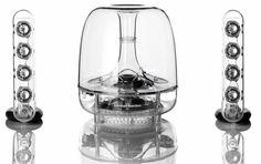 Harman Kardon SoundSticks III - 2.1 speakerset - Transparant