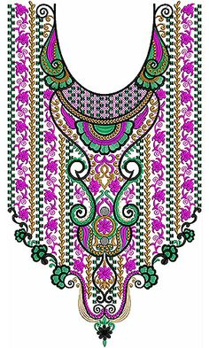 Fulfilled Salwar Neck Embroidery Designs