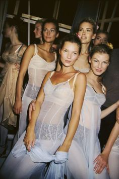 Valeria Mazza & Kate Moss Dolce & Gabbana - Spring Summer 1997.