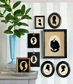 Victorian Silhouette Pictures.