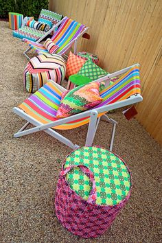 Regista Deck Chairs from MissoniHome Southampton