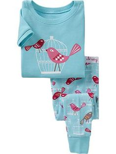I'm loving Old Navy pajamas for our daughter. Cheap. Cheerful. Damn cute. $14.94