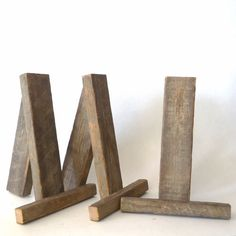 rustic tabletop easels, wedding signs stands, party supplies, display, wedding decorations, party decorations, small easels