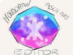 This nerdy Mac app makes creating ASCII art easy as pie. Art Editor, Ascii Art, Nerdy, About Me Blog