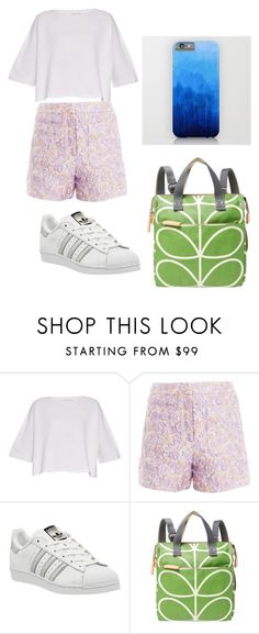 """school"" by dyahretno-hananti on Polyvore featuring Helmut Lang, Markus Lupfer, adidas and Orla Kiely"