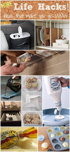 Lifehacks part 2 - these are amazing! Keep checking on page there are some I didn't see yet ! Useful Life Hacks, Life Hacks
