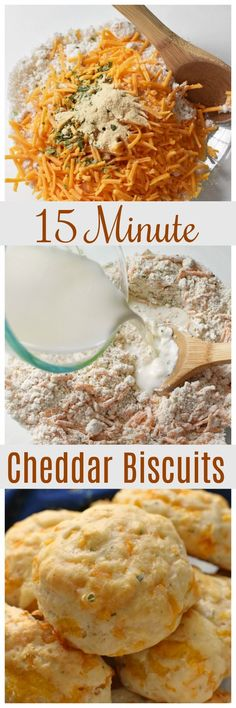#AD 15 Minute Cheddar Biscuits. The perfect biscuit for a cold day. These cheddar biscuits are so fool-proof. #IdahoanSoups via @savvysavingcoup