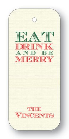 Eat Drink and be Merry - Forest (Customizable)