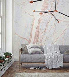 Mural wallpaper - marble pattern