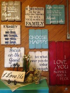 A Little Bit of This, That, and Everything: Pallet Project - Pallet Art