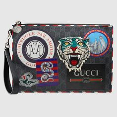 Cartera Neceser GG Supreme Night Courrier gucci