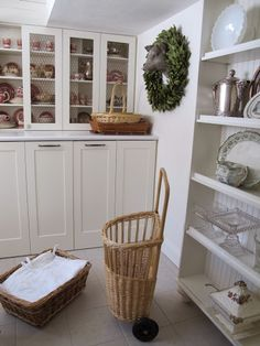 Summer kitchen..pantry..laundry and such... — Nella Miller Design