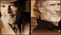Country Legends Kris Kristofferson and Merle Haggard at nTelos Sunday, July 29th