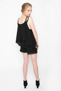 Midnight Singlet   Amber Whitecliffe Roads, Amber, Design, Women, Fashion, Moda, Road Routes, Fashion Styles