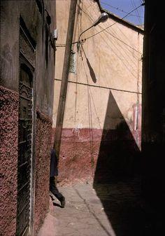 © Harry Gruyaert/Magnum Photos Marrakech. Streetscene in the Medina. 2001.