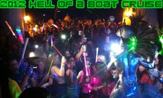 One Hell of a BOAT CRUISE 2012!!!!  www.whatspoppn.com