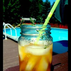 Spiced Thyme & Lime Iced Tea Recipe - Key Ingredient