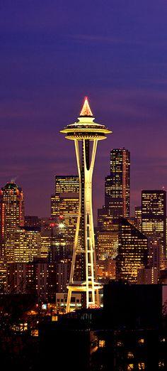 Space Needle ~ Seattle, WA • Architects: Edward E. Carlson / John Graham, Jr.Victor / Steinbrueck - PopCulturez.com