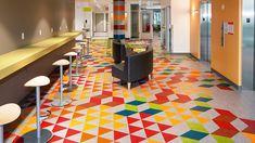 Marmoleum / Forbo Flooring Systems / Custom Pattern