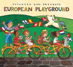 Kids CD European Playground by Putumayo Kids in All Music American Folk Music, Music And Movement, Presents For Kids, Cultural Diversity, Music For Kids, Baby Store, World Music, Nursery Rhymes, How To Introduce Yourself