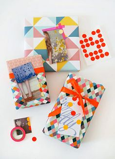 Make Me: Gift Tags From Magazine Pages by decor8, via Flickr