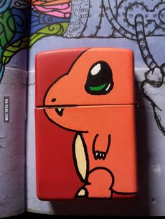 Charmander was a fitting Pokemon for my lighter Bongs, Breathing Fire, Cool Lighters, Zippo Lighter, Charmander, Geek Out, Nerdy, Clever, Geek Stuff