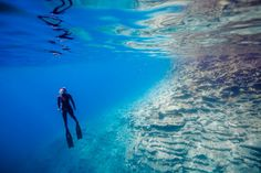 Would you dare to do this?  Freediving - where less is definitely more.  3 Unforgettable Freedive Sites.