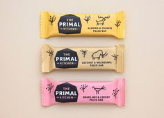 Logo and packaging for The Primal Kitchen