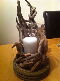 clean coast sculptures - candle holder