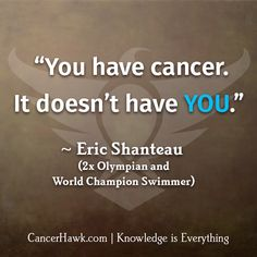 Inspirational Quotes For Cancer Patients http://cancerhawk.com/2015/05/11/inspirational-quotes-for-cancer-patients-from-athletes/