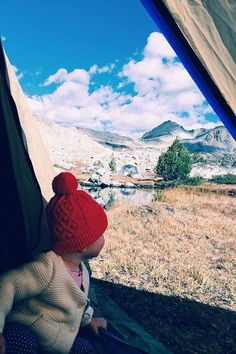 When I have a baby, we will travel the world together.