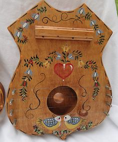 Pineapple Door Harp | wood crafts | Pinterest