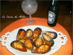 Mejillones en salsa picante - La Cocina de Adita