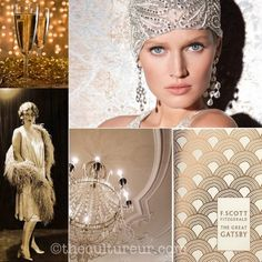 Great Gatsby themed cocktail party ideas